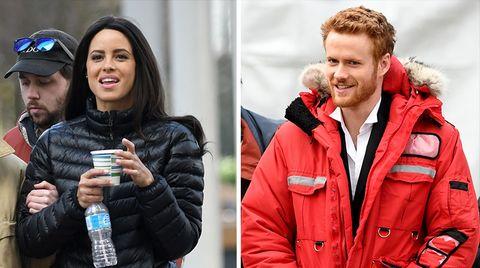 """Schauspieler Parisa Fitz-Henley und Murray Fraser spielen Meghan und Prinz Harry im Lifetime Movie """"Harry und Meghan"""""""