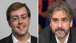 Christian Mihr und Deniz Yücel