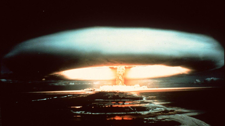 Atomtest auf dem Mururoa-Atoll