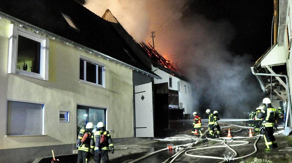 nachrichten deutschland - hausbrand horb
