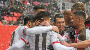 Torflaute beendet: Sami Allagui schoss für den FC St. Pauli das entscheidende Tor gegen Ingolstadt