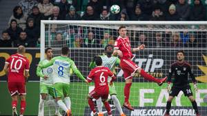 Der FC Bayern München brauchte lange, bis er gegen den VfL Wolfsburg die Oberhand gewann