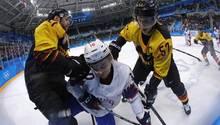 Olympia 2018 - Marcel Hirscher - Eishockey