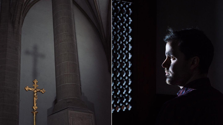 Kirchenaustritt: Christopher Piltz ist zwiegespalten