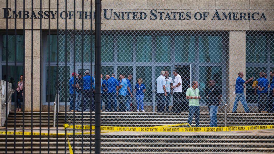Gehirnerschütterung ohne Erschütterung: Rätsel um US-Diplomaten auf Kuba