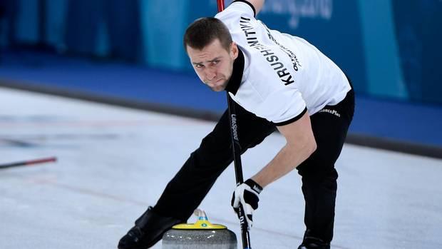 Auch B-Probe positiv:Alexander Kruschelnizki, gemeinsam mit seiner Ehefrau in Pyeongchang Bronzemedaillen-Gewinner im Curling-Mixed, ist des Dopings überführt.