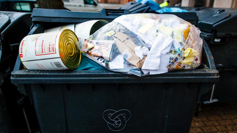 Müll in Hamburg