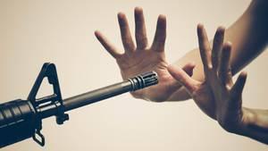 In den USA sind halbautomatische Sturmgewehre frei verkäuflich
