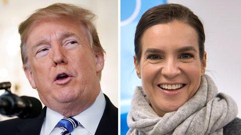 Donald Trump und Katarina Witt