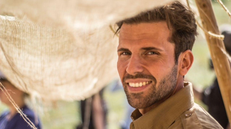 """Benjamin Schnau am Filmset zu """"Perhaps a Hero"""", in dem er einen deutschen Soldaten spielt. Schon als Kind träumte der 31-Jährige davon, Schauspieler zu werden. 2017 wagte er den Schritt über den großen Teich, lebt seitdem in Los Angeles."""