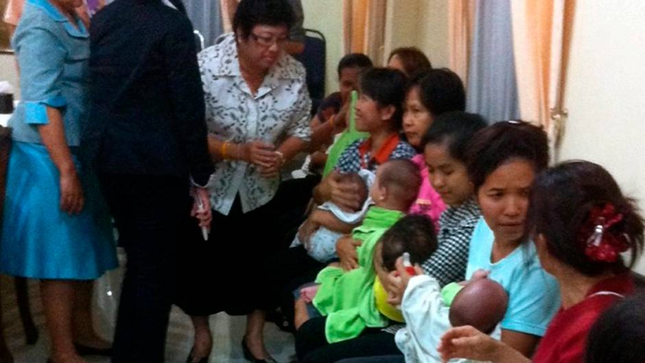 Leihmütter in Thailand