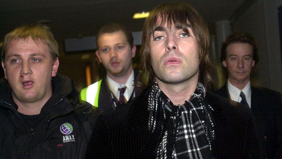 """Liam Gallagher Flughafen """"Heathrow"""""""