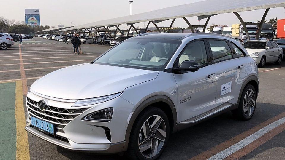 Hyundai Nexo - die maximale Leistung liegt bei 120 kW / 163 PS und 395 Nm