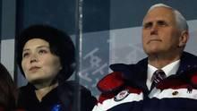 Nordkorea zeigt US-Vizepräsident die kalte Schulter: Geheimtreffen mit Pence abgesagt