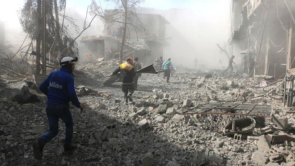 Eskalation in Syrien: Über 250 Tote und 1200 Verletzte - in 48 Stunden