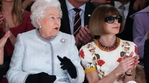 Queen Elizabeth II. und Anna Wintour
