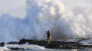 "Zyklon ""Gita"" in Neuseeland"