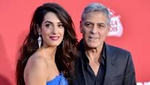 George Clooney und Amal Clooney
