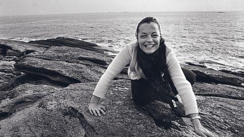 Romy Schneider empfing 1981 den stern in der Bretagne. Robert Lebecks Bilder zeigen eine Frau, vom Leben gezeichnet
