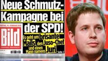 """Umstrittene """"Bild""""-Story: """"Titanic"""" hat """"Schmutzkampagne bei der SPD"""" lanciert - behauptet die """"Titanic"""""""