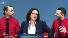 ZDF-Satire-Video über Andrea Nahles und die SPD