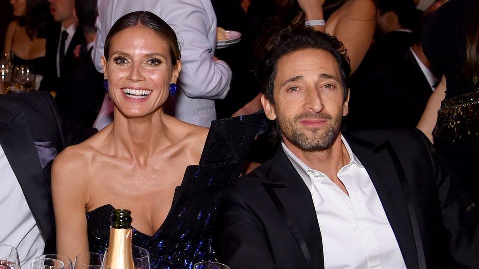 Schon bei der amfAR-Gala in New York Anfang Februar saßen Heidi Klum und Adrien Brody nebeneinander. Bei Michael Chows Jubiläumsfeier sollen sie angeblich geflirtet haben.