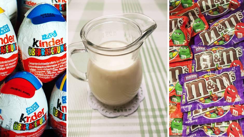Überraschungsei & Co.: Diese stinknormalen Lebensmittel sind in anderen Ländern verboten
