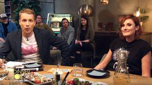 "Comedienne Lena Liebkind war zu Gast bei Oliver Pochers ""Dinner Party"""