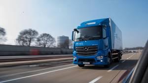 Elektro-Lastwagen von Daimler