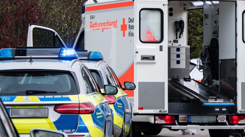 Feuerwehr und Rettungsdienst im Einsatz