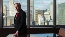 """António Guterres: """"Wir haben nicht das Recht, das Falsche zu tun"""""""