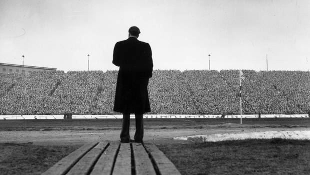 Billy Graham an der Stamford Bridge