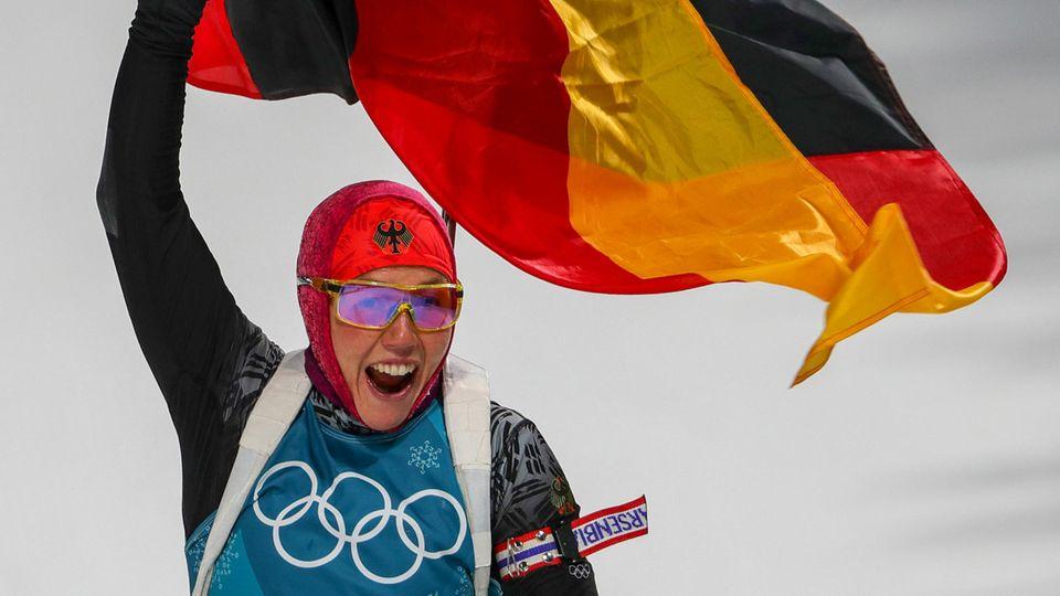 Olympiasiegerin Laura Dahlmeier – seelenruhig zum Gold-Rausch