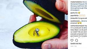 Avocado: Was die Frucht mit Verlobungen zu tun hat.