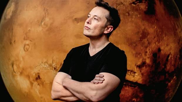 Visionär: Elon Musk hofft auf eine baldige Besiedlung des Erdnachbarn Mars