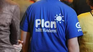 T-Shirt des Kinderhilfswerk Plan International