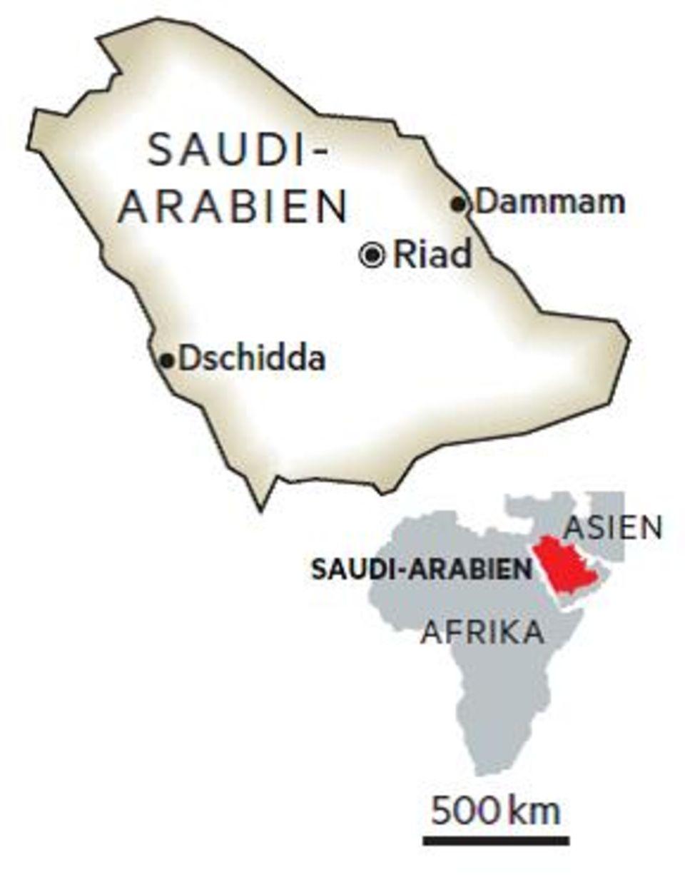 Durch ein Land voller Widersprüche: Wandel im Morgenland: Saudi-Arabien auf der Suche nach der neuen Zeit