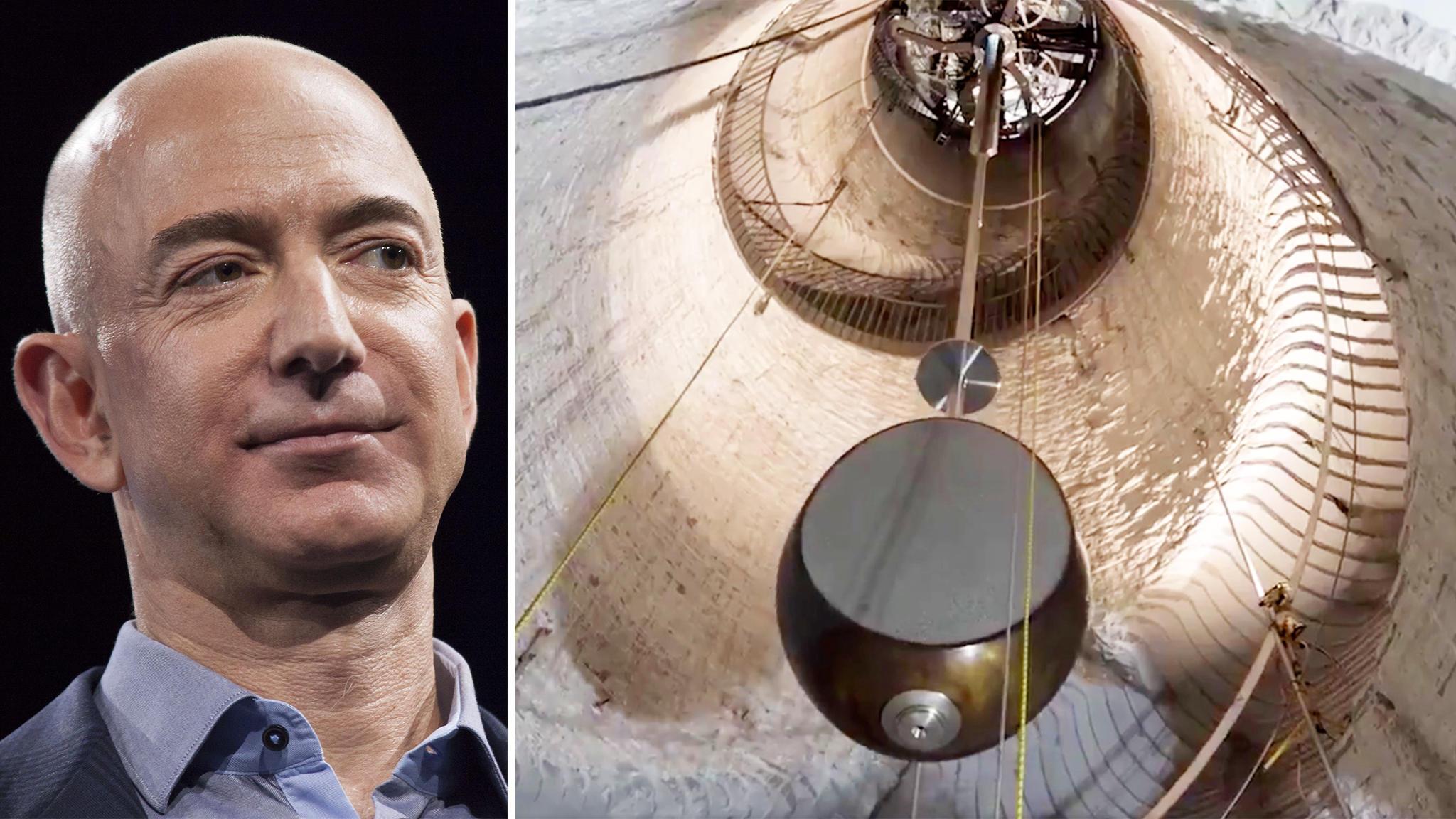 Jeff Bezos Amazon Chef Baut Mechanische Riesen Uhr Die 10000