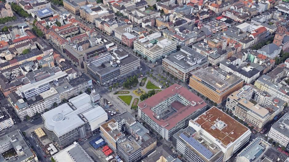 """Ungewöhnliche Stadtplanung: """"Ich wohne in D6 18"""" - warum es in Mannheims Zentrum keine Straßennamen gibt"""