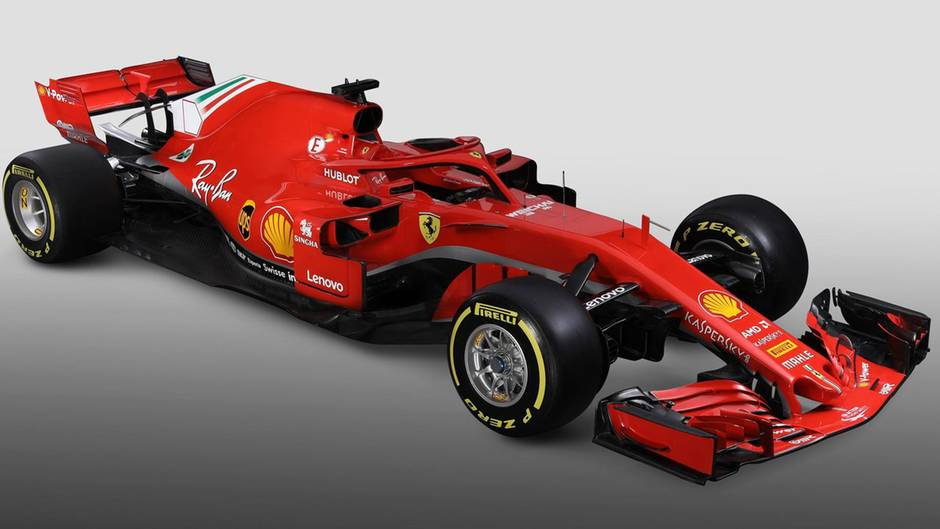 ferrari sebastian vettel happy mit dem neuen formel 1. Black Bedroom Furniture Sets. Home Design Ideas