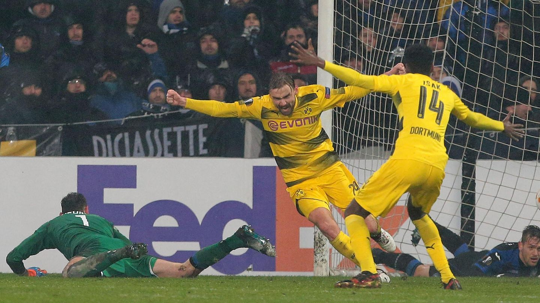 Ganz schwaches Spiel vom BVB in der Europa League, aber das ist am Ende letztlich egal, wegen Marcel Schmelzers Tor