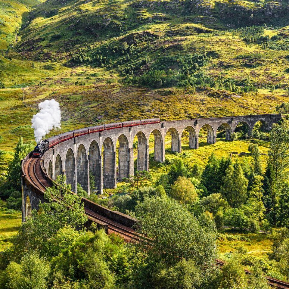 Glenfinnan-Viadukt, Schottland: