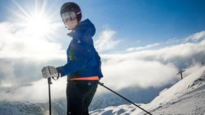 Auf Obertauerns schneesicheren Pisten unterwegs mit Maria Höfl-Riesch