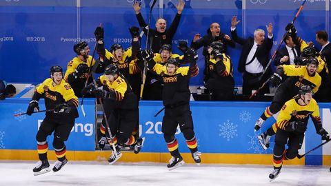 Olympia 2018: Run auf Tickets für Kanada-Spiel: Deutsche Sportler sind heiß auf weitere Eishockey-Sensation