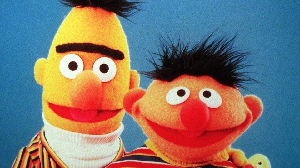Sesamstraße-Helden Ernie und Bert