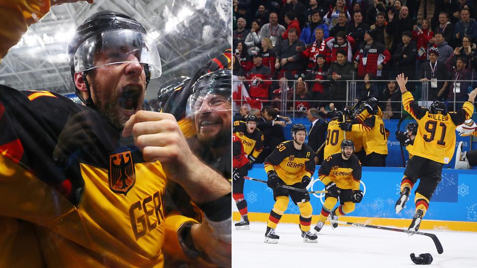 Pyeongchang 2018: Eishockey-Drama: Deutsches Team verpasst Gold in der Verlängerung - Gold und Silber für Viererbobs