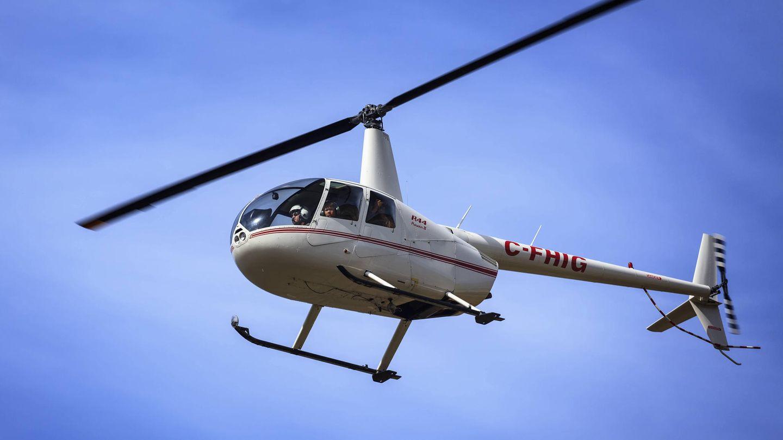 Robinson R44-Hubschrauber