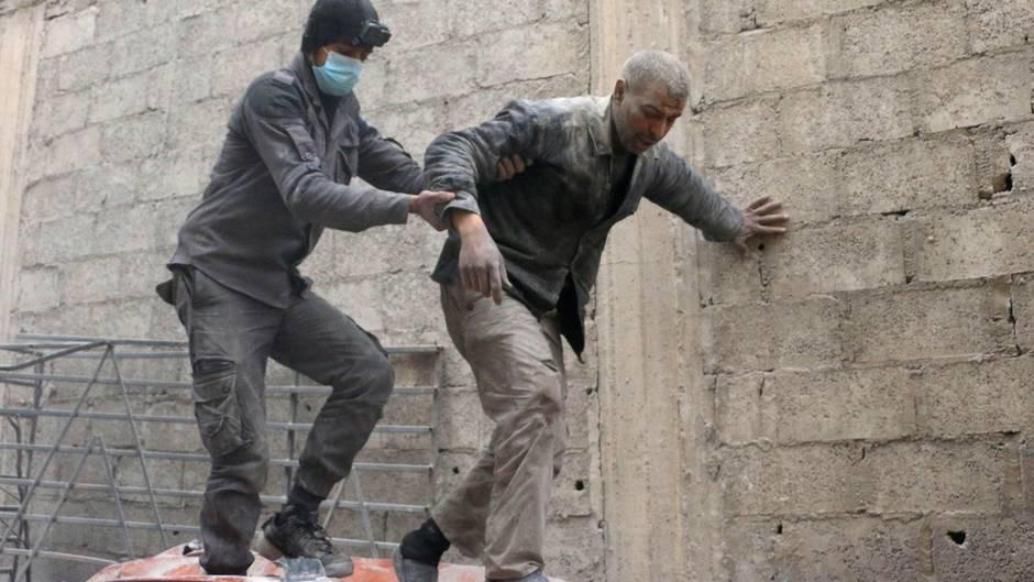 Wieder Tote bei Angriffen auf Rebellenenklave Ghuta