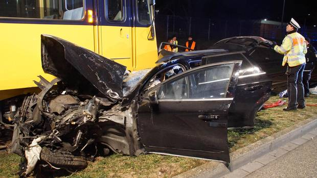 Ein Vierjähriger starb bei dem Unfall in Stuttgart