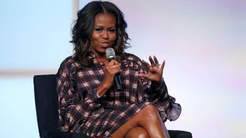 Michelle Obama bei einer Veranstaltung der Obama Foundation